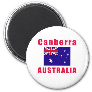 Canberra Australia capital designs 6 Cm Round Magnet