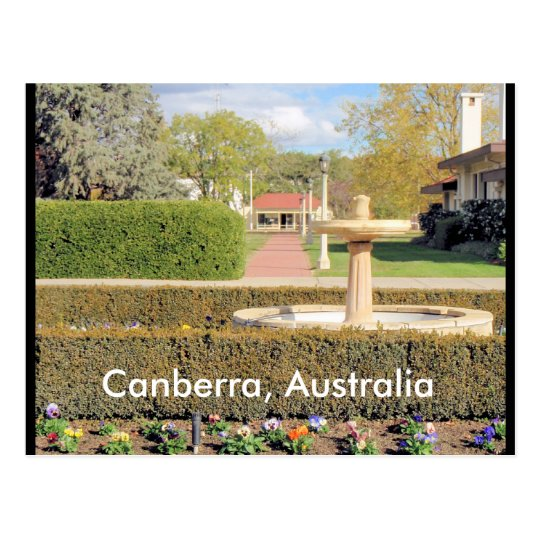 Canberra Australia postcard