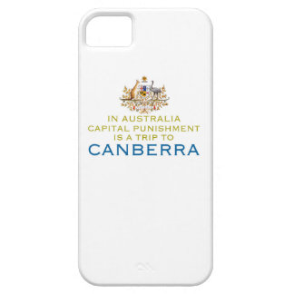 Canberra...Capital Punishment. iPhone 5 Cover
