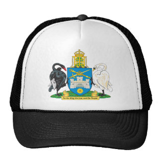 Canberra Coat Of Arms Trucker Hats