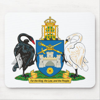 Canberra Coat of Arms Mousepad
