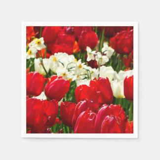 Canberra Flowers Disposable Serviettes