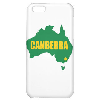 Canberra Green and Gold Map iPhone 5C Cover