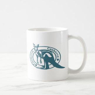 Canberra Kangaroo Coffee Mug