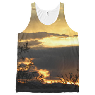 Canberra Summer Sunset All-Over Print Tank Top