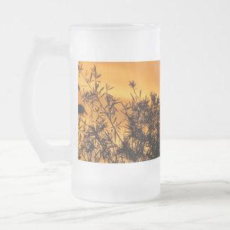 Canberra Summer Sunset Frosted Glass Mug