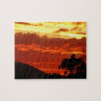 Canberra Summer Sunset Jigsaw Puzzle