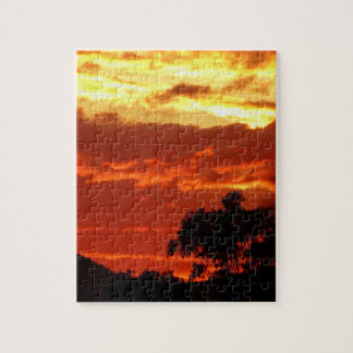 Canberra Summer Sunset Jigsaw Puzzles