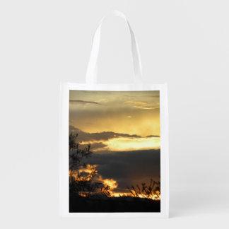 Canberra Summer Sunset Reusable Grocery Bag