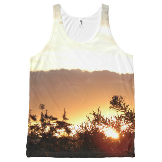 Canberra Sunset All-Over Print Tank Top