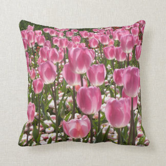 Canberra Tulips double-sided Throw Pillow