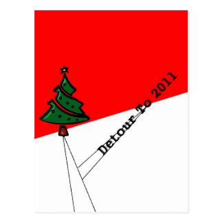 Canceling Christmas Christmas Postcard
