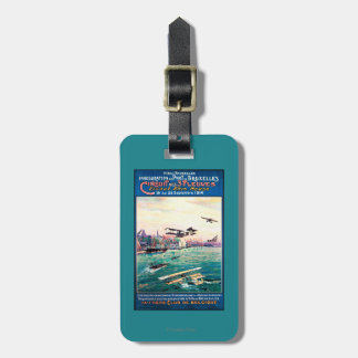 Cancelled Float Plane Promotional Poster Luggage Tag