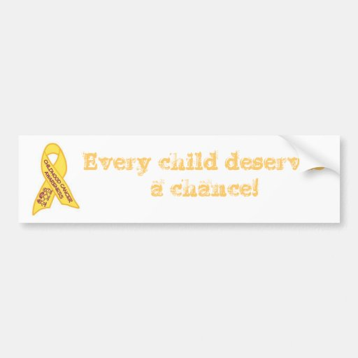 cancer awareness bumper stickers