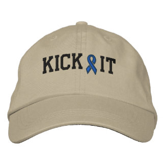 Cancer Awareness Cap by SRF Embroidered Hat