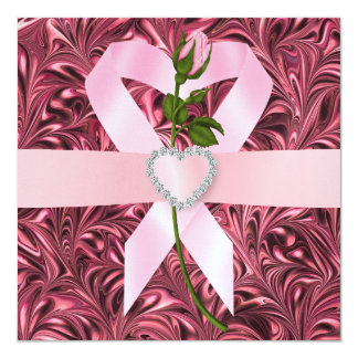 Cancer Awareness - Pink Ribbon Card