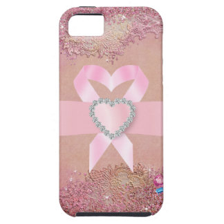 Cancer Awareness Pink Ribbon  -  iPhone5 Case
