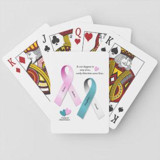Cancer Awareness Playing Cards