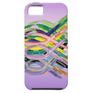 Cancer Awareness Ribbons iPhone 5 Case
