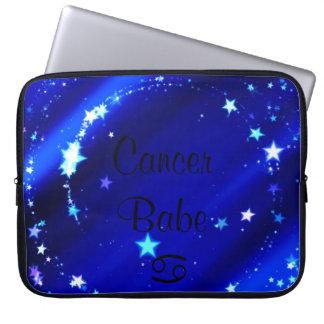 Cancer Babe Laptop Sleeve