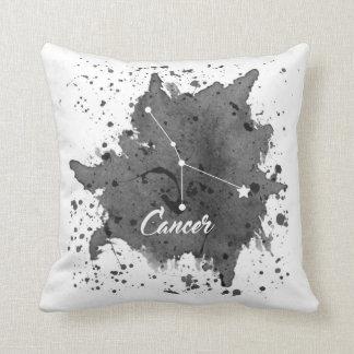 Cancer Black Pillow
