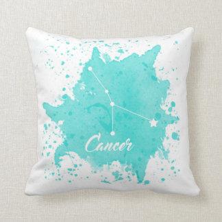 Cancer Blue Pillow