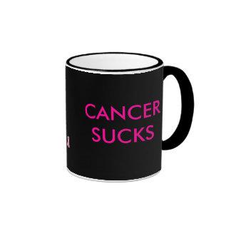 CANCER, CANCER SUCKS MUGS
