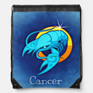 Cancer, Cancro Drawstring Bag