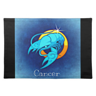 Cancer cancro placemat