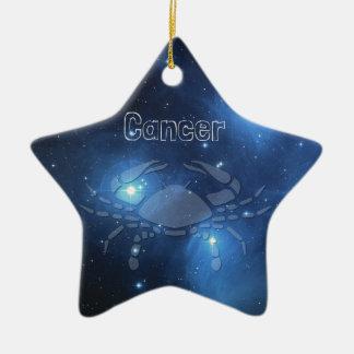 Cancer Ceramic Star Decoration