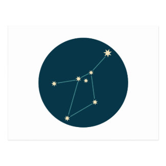Cancer Constellation Postcard