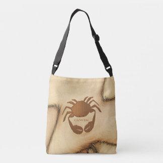 Cancer Crab Zodiac Crossbody Bag