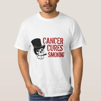 Cancer Cures Smoking Smoking Skull with Top Hat