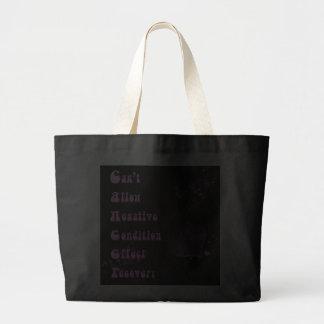 Cancer Encouragement Jumbo Tote Bag