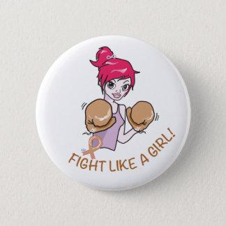CANCER FIGHT-CHILDHOOD 6 CM ROUND BADGE