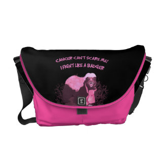 Cancer (Fight Like A Honey Badger) Messenger Bag
