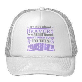 Cancer Fighter Not About Bravery Cap