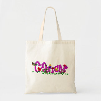 Cancer Flowers Canvas Bags