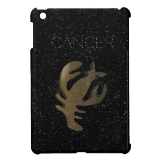 Cancer golden sign cover for the iPad mini