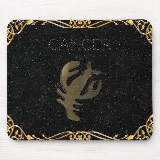 Cancer golden sign mouse mat