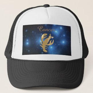Cancer golden sign trucker hat