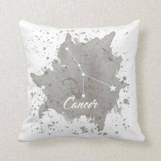 Cancer Gray Pillow