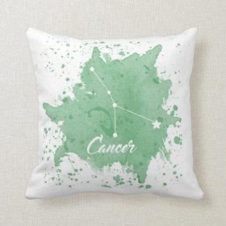 Cancer Green Pillow