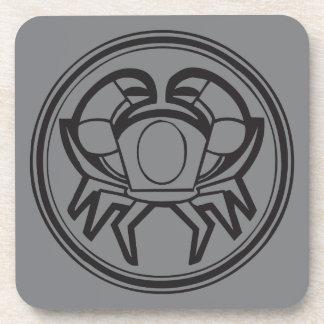 Cancer Grey Coaster