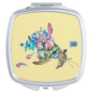Cancer hermit compact mirrors