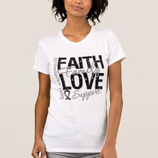 Cancer Inspiring Slogan Collage Skin Cancer T Shirts