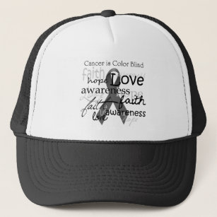 custom faith hope and love hats caps zazzle co uk Hats Man of Faith cancer is colour blind trucker hat