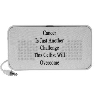 Cancer Is Just Another Challenge This Cellist Will iPod Speakers