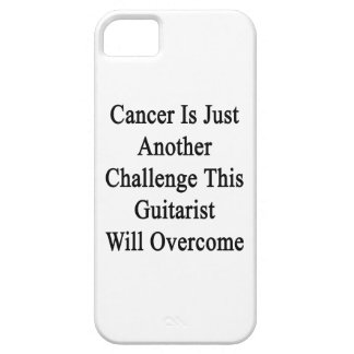Cancer Is Just Another Challenge This Guitarist Wi iPhone 5 Case