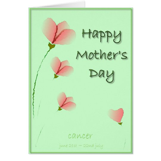 Cancer Mother's Day Card. Card